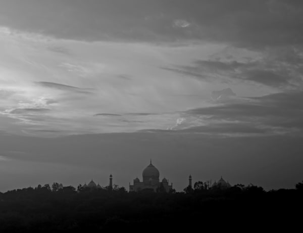 Taj Mahal Sunset 5