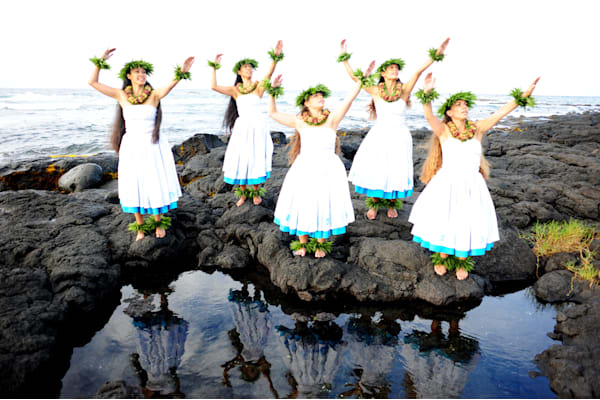 Halau women reflection