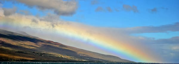 Molokai Rainbow Photography Art | Brian Ross Photography