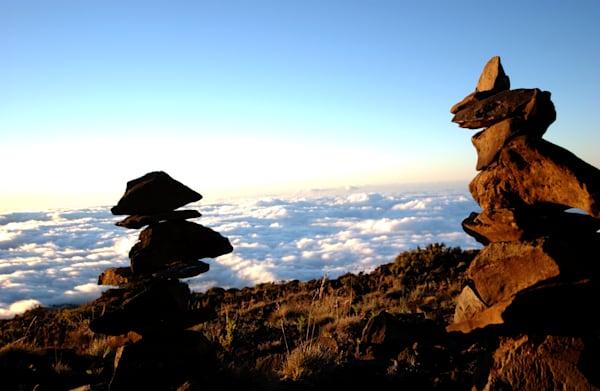 Cairns on Haleakala