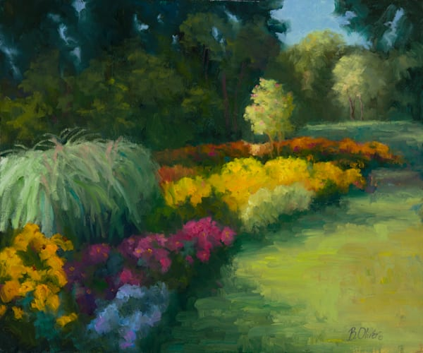 Black Eyed Susans Aglow Art | B. Oliver, Art