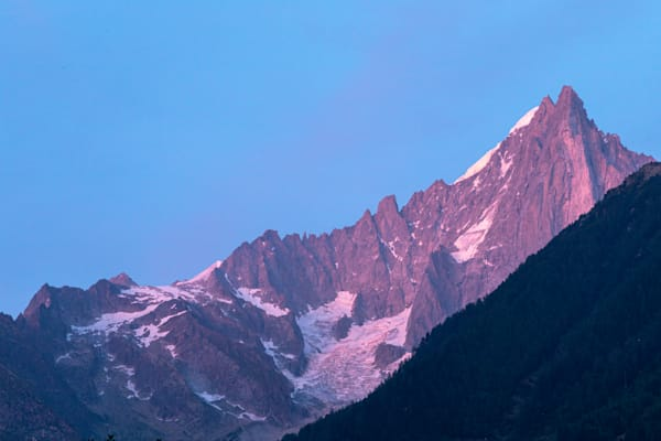 Les Drus In Alpenglow Photography Art | Will Nourse Photography