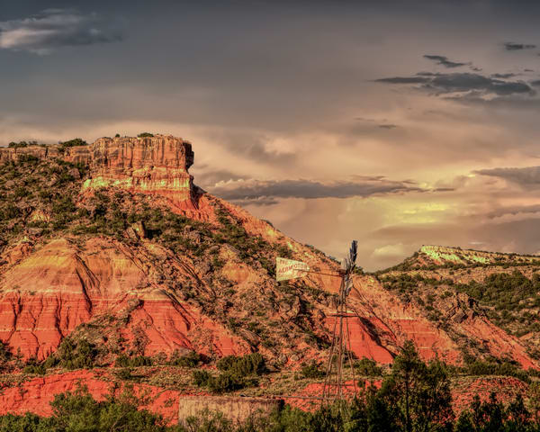 Palo Duro Canyon Painted with Light