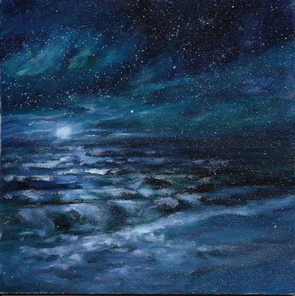Ocean Night Scene