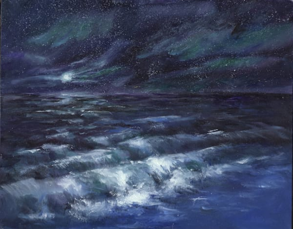 Moonlight Ocean I