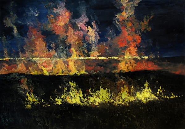 Wabaunsee Night Fire #3