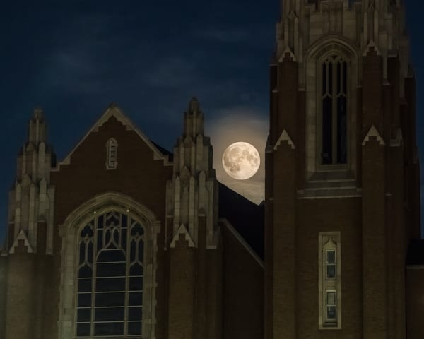 Polk street Methodist Super moon