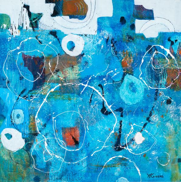blue,water,circles