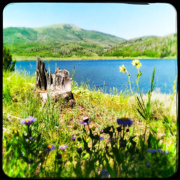 Pearl Lake Summer Scene|Fine Art Photography by Todd Breitling