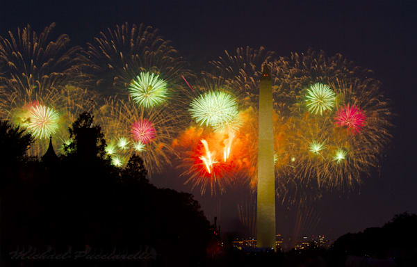 A Fine Art Photograph of A Revolutionary Fourth of July by Michael Pucciarelli