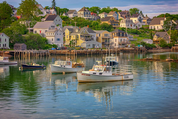 Evening in Stonington Harbor | Shop Photography by Rick Berk
