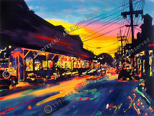 Front St., Lahaina, Ltd. Edition Art by kasprzycki.com