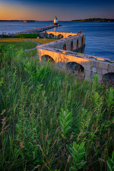 Spring Point Ledge Lighthouse & Fort Preble | Shop Photography by Rick Berk