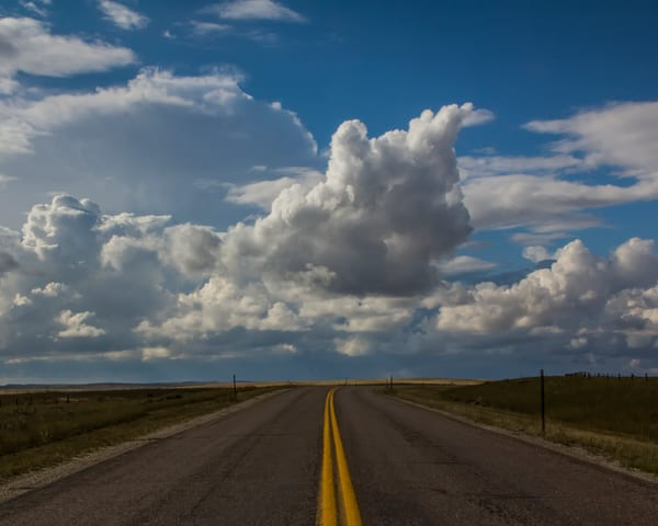 Bluest Skies of Texas on the road tonight