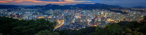 Seoul, South Korea Panorama | Shop Photography by Rick Berk