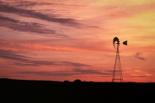 Windmill at Sunrise | Jim Parkin Fine Art Photography