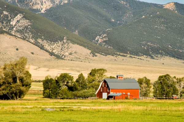 Red Barn | Jim Parkin Fine Art Photography