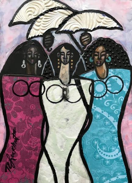 Sun Sisters Art   thomaselockhart