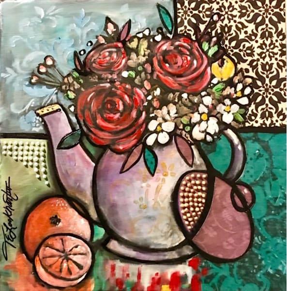 Still Life Bouquet Art   thomaselockhart