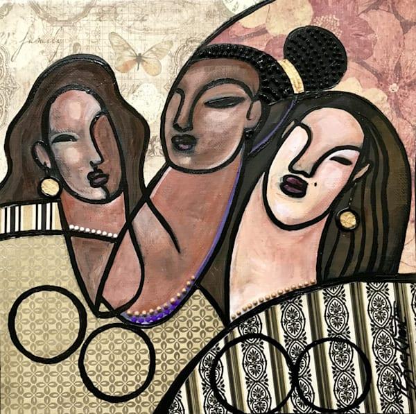 Joyful Sisters Art   thomaselockhart