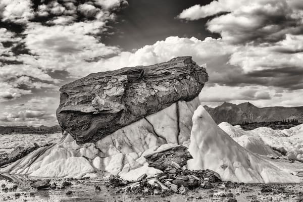 Matanuska Glacier Geology Photography Art | Ray Bulson Photography