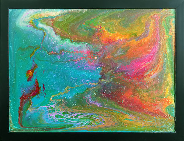 Waterworld, Coming Soon fluid painting