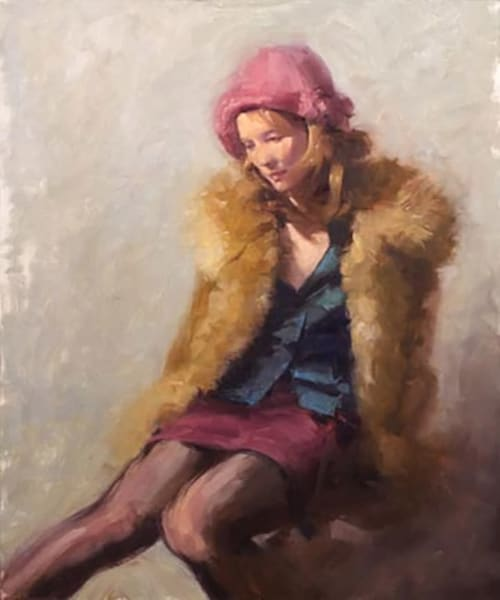 Cathleen, Pink Hat Art | Fountainhead Gallery