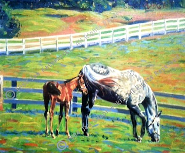 Mother & Foal