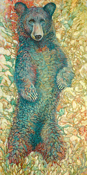 Monarch, Black Bear | Col Mitchell Contemporary Paper Artist