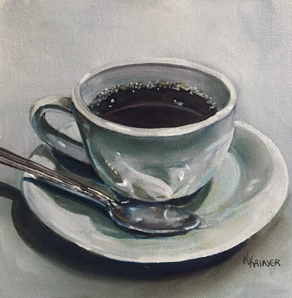 Cup of Coffee by Food Artist Kristine Kainer