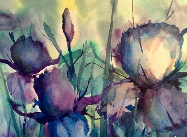 Shades Of Blue Art   Mickey La Fave