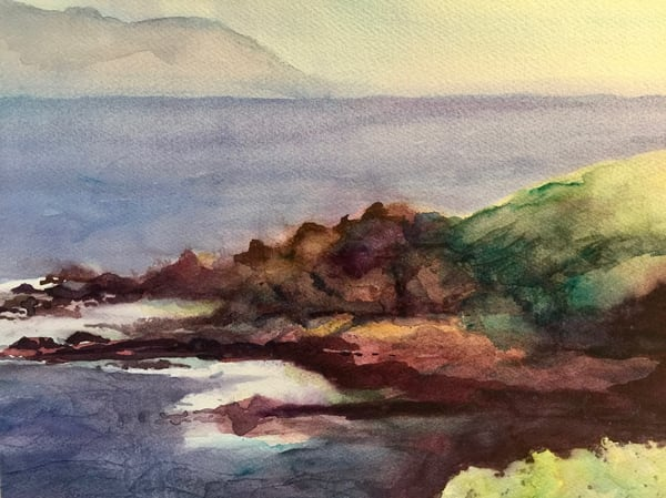 Rocky Seashore Art   Mickey La Fave