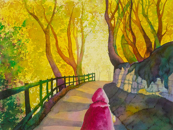 Into The Woods Art   Mickey La Fave