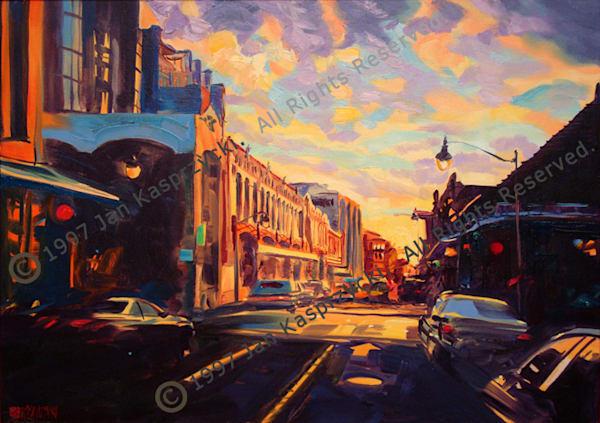 Nuuanu Ave., Honolulu Art | Kasprzycki Fiine Art Inc.