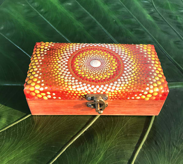 Orange Padauk Jewelry Box (B)