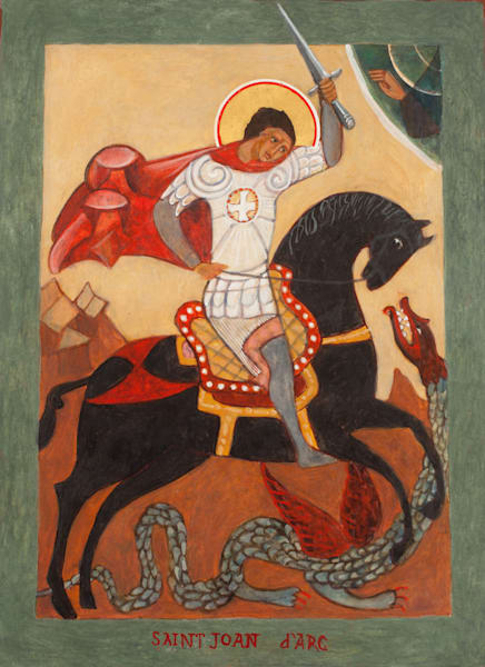 Joan of Arc Icon