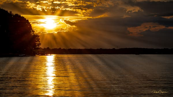 Sunset Lake Norman, North Carolina | Shop Prints | Robert Shugarman Photography