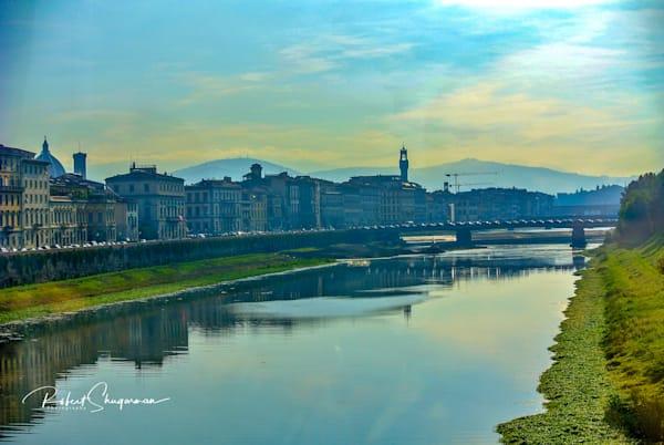 Canal View of Ponte Vecchio  | Shop Prints | Robert Shugarman Photography