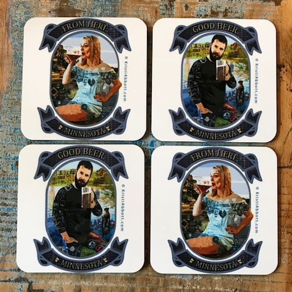 MINNESOTA BEER SERIES COASTER
