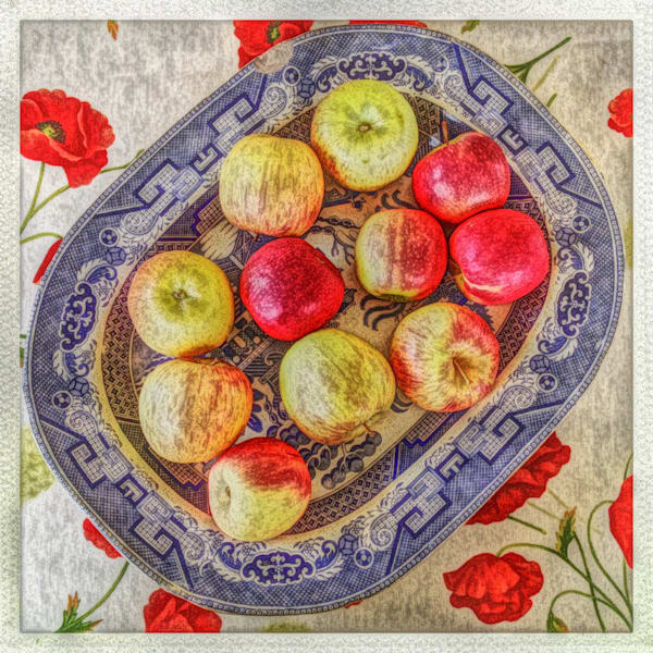 Bowl Of Apples Art   photographicsart