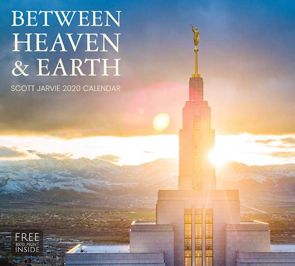 2020 Scott Jarvie Calendar- Between Heaven & Earth