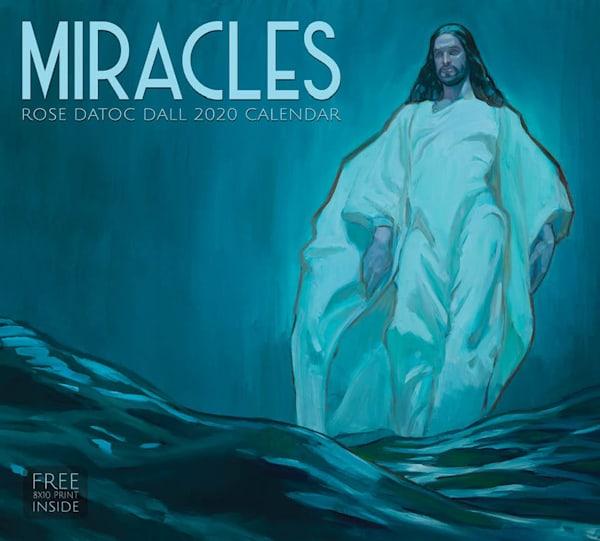 2020 Rose Datoc Dall Calendar- Miracles