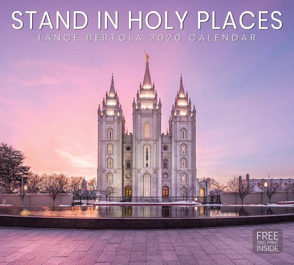 2020 Lance Bertola Calendar- Stand in Holy Places