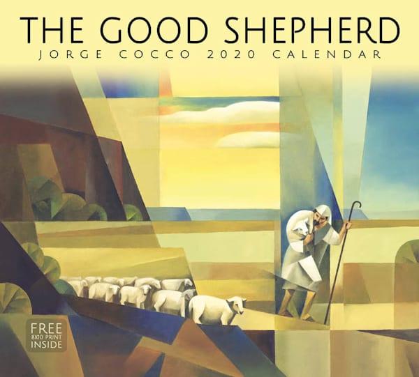 2020 Jorge Cocco Calendar- The Good Shepherd