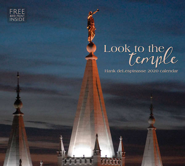 2020 Hank DeLespinasse Calendar- Look to the Temple