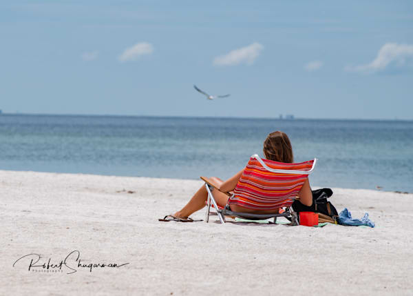 Reading on the Beach | Shop Prints | Robert Shugarman Photography