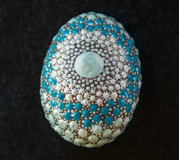 Detailed Art Mandala Stone (B)