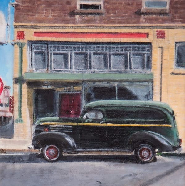 Truck in time:  Fine Art Paintings and Prints by Artist Shane O'Donnell