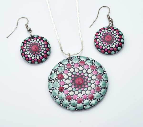 Necklace + Earrings Set (B)