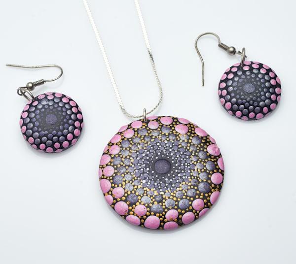 Necklace + Earrings Set (C)